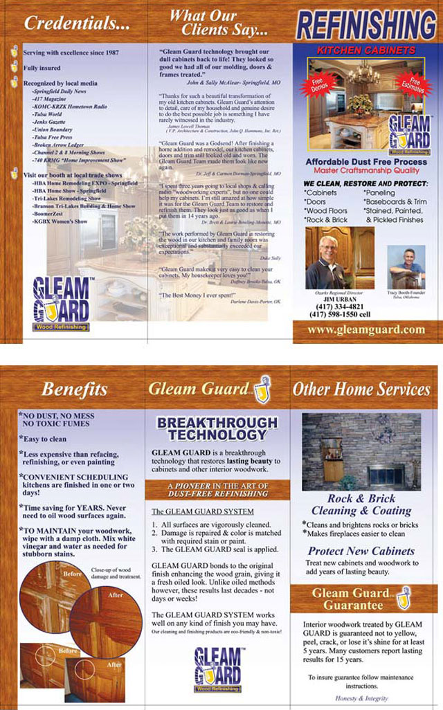 Gleam Guard brochure