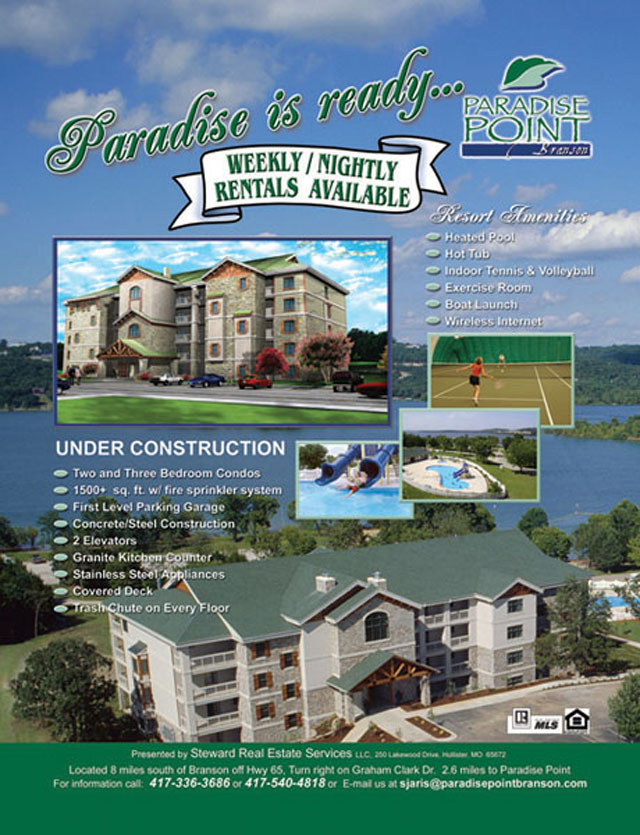 Paradise Point Ad - December Parade of Homes