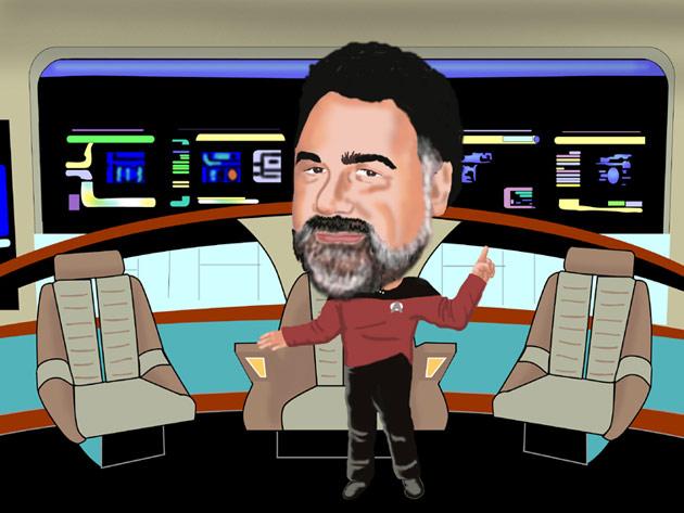 Star Trek Character Photoshop Art