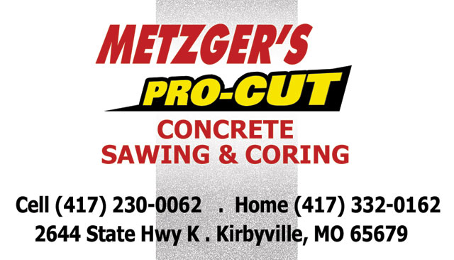Metzger Concrete and Coring