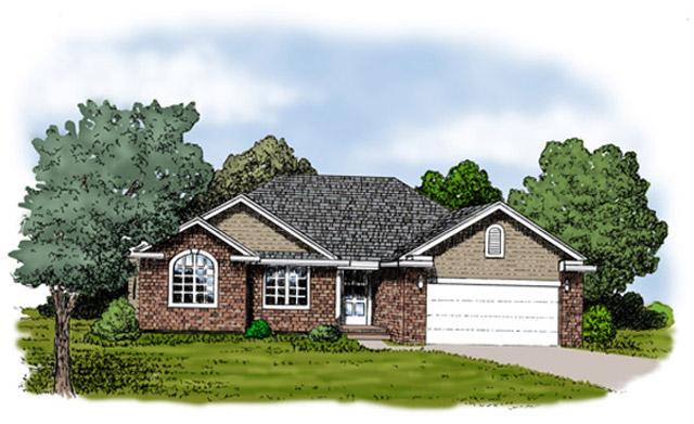 House Rendering-Ozark Mtn Homes