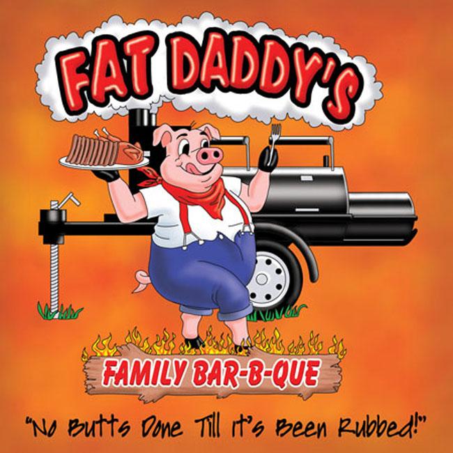 Fat Daddy's Bar-B-Que logo