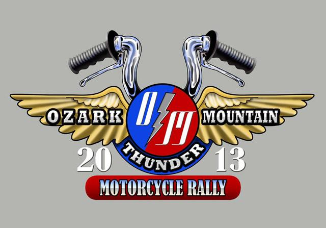 Ozark Mountain Thunder Motorcycle Rally logo