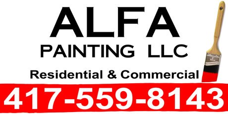 ALFA Painting Magnetic Sign