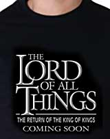 Frozen parody Tee-Chosen-Lord of All Things
