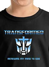 Transformer Christian parody Tee