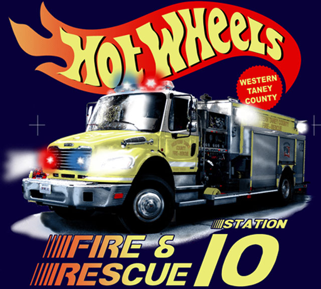 Hot Wheels Fire & Rescue Tee